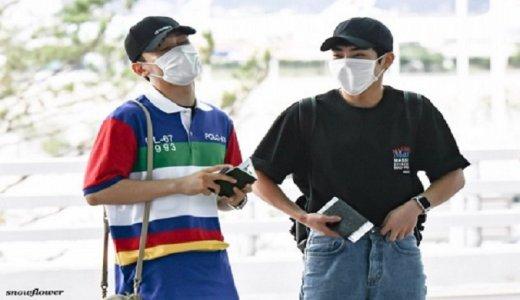 【EXO空港写真】韓国からマレーシアへ出発180706