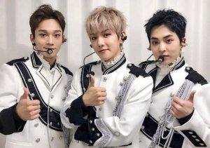 exo-cbxのメンバー画像