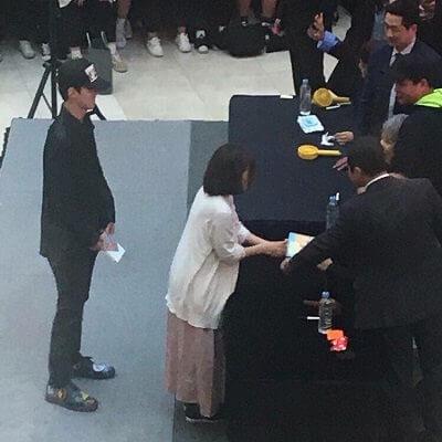 EXO-CBXのファンサイン会のセフン画像