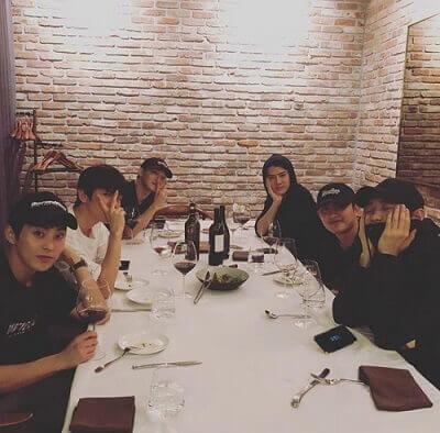 EXO食事会画像