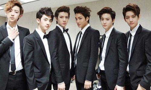 EXO-Kのメンバー写真画像