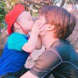EXOカイと姪っ子甥っ子画像