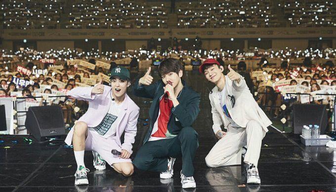 EXO-CBXファンミーティング画像