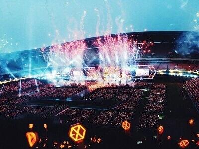 EXOコンサート画像