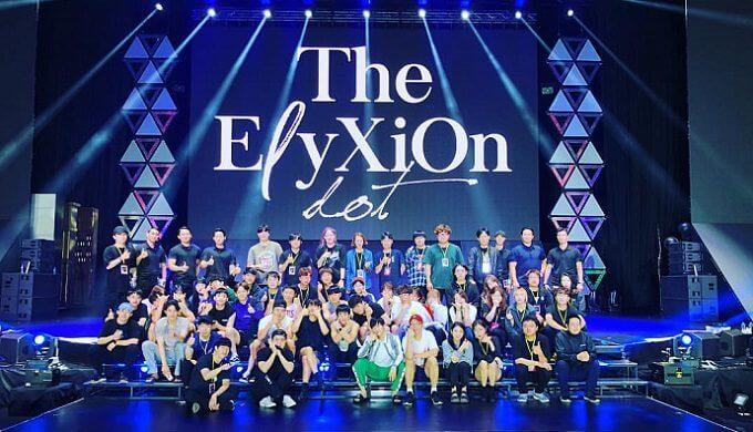 EXOのコンサート画像