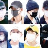 EXO空港ファッション画像