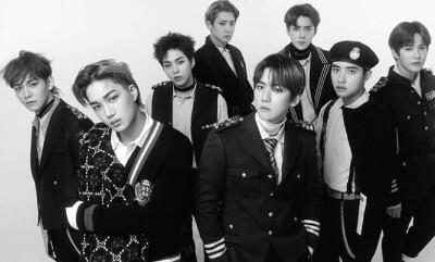 EXOのAllegroアルバムジャケット画像