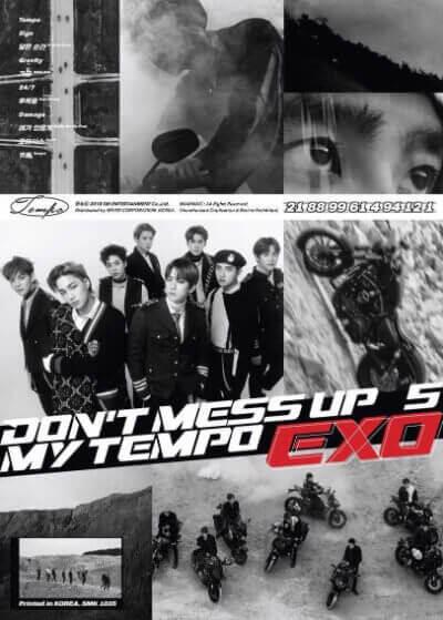EXOのDON'TMESSUPMYTEMPOのAllegroアルバム画像