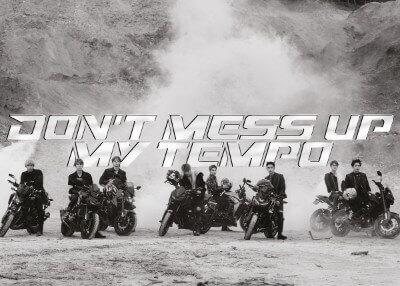 EXOのDON'TMESSUPMYTEMPOのAndanteアルバム画像