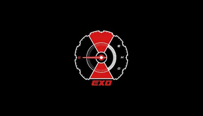 EXOカムバ2018ロゴ画像