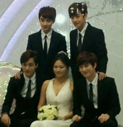 EXOカイ姉の結婚式画像