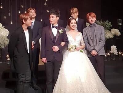 EXOチャニョル姉の結婚式メンバー画像