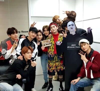 EXOとシャイニーキーの写真画像