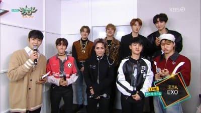 EXOミュージックバンク写真画像