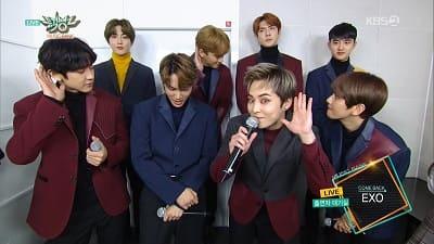 EXOミュージックバンクのMG写真画像