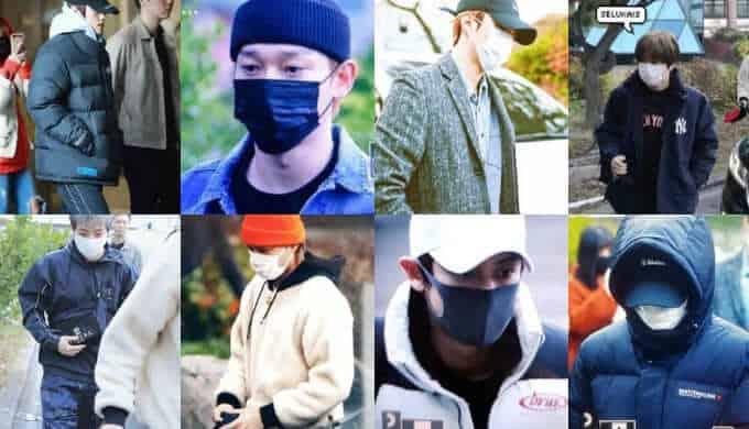 EXOの出勤写真画像
