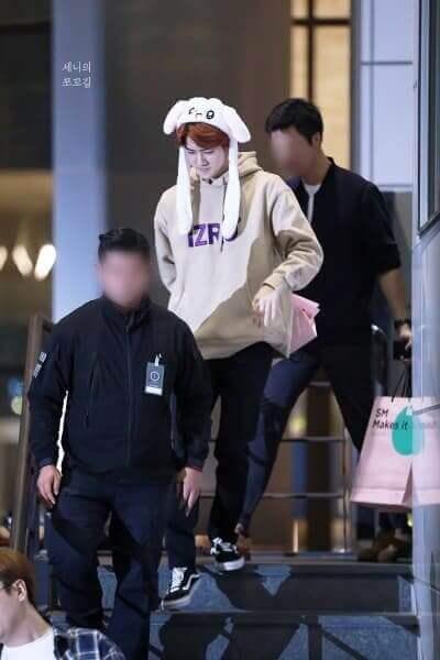 EXO出勤写真画像
